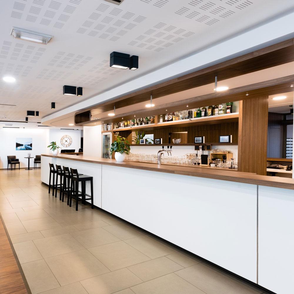 Le bar de la Brasserie Accordage