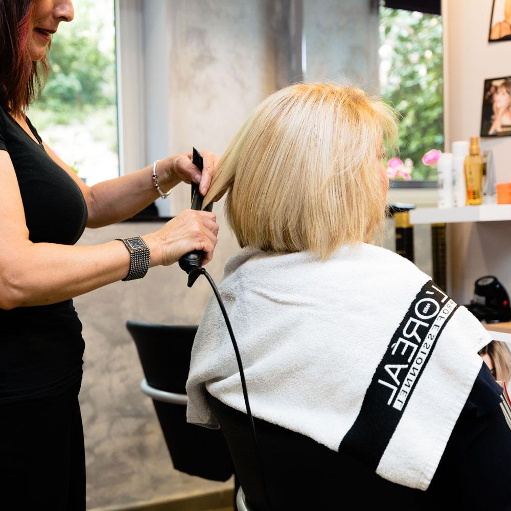 Le salon de coiffure à la Résidence Accordage