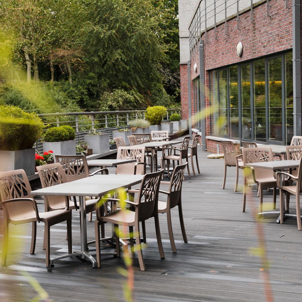 Terrasse de la Brasserie Accordage